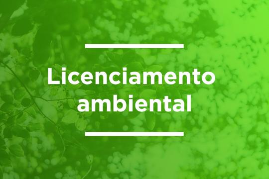 PUBLICAÇÃO DE LICENCIAMENTO AMBIENTAL A construtora Gavilla LTDA